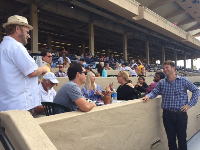 Day at the Del Mar Races 1